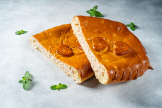 Пирог с ветчиной и сыром 1300 г