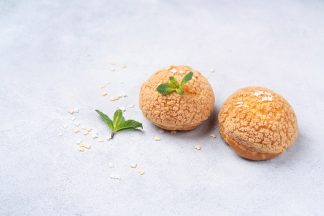 Пирожное «Булочка ШУ» со сливками 45 г